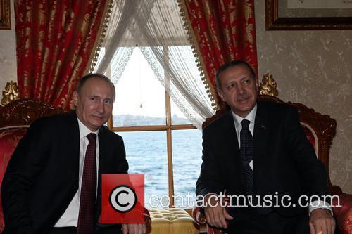 Russian President Vladimir Putin, Turkish Prime Minister Recep, Tayyip Erdogan and Istanbul 6
