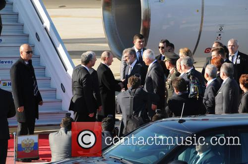 Russian President Vladimir Putin, Turkish Prime Minister Recep, Tayyip Erdogan and Istanbul 3
