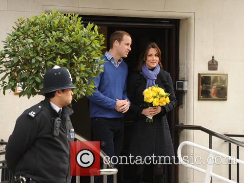 Prince William, The Duke, Cambridge, Kate Middleton, Duchess, King Edward, Hospital, Catherine and Monday 8