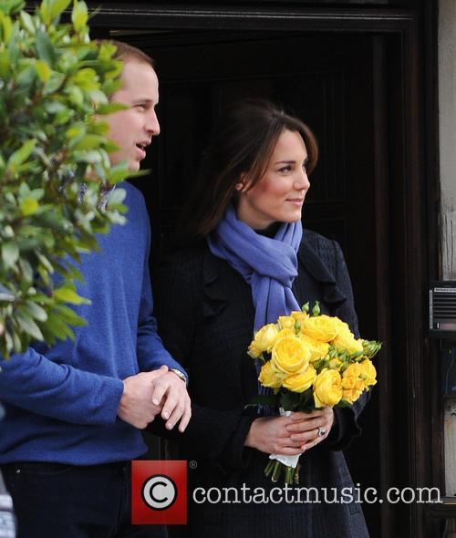 Prince William, Duke, Cambridge, Catherine, Duchess, King Edward, Hospital, Monday