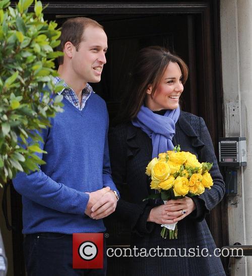 Prince William, Duke, Cambridge, Catherine, Duchess, King Edward, Hospital and Monday 3