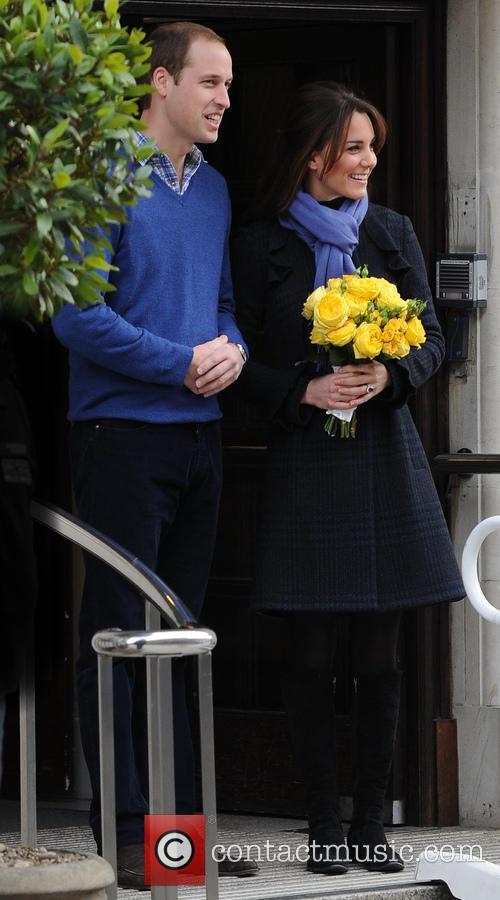Prince William, Duke, Cambridge, Catherine, Duchess, King Edward, Hospital and Monday 4