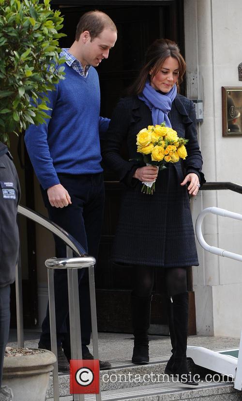 Prince William, Duke, Cambridge, Catherine, Duchess, King Edward, Hospital and Monday 9