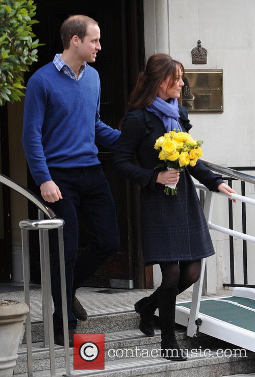 Prince William, Duke, Cambridge, Catherine, Duchess, King Edward, Hospital and Monday 6