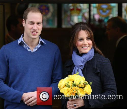 Prince William, The Duke, Cambridge, Kate Middleton, Duchess, King Edward, Hospital, Catherine and Monday 6