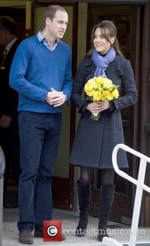 Prince William, The Duke, Cambridge, Kate Middleton, Duchess, King Edward, Hospital, Catherine and Monday 2