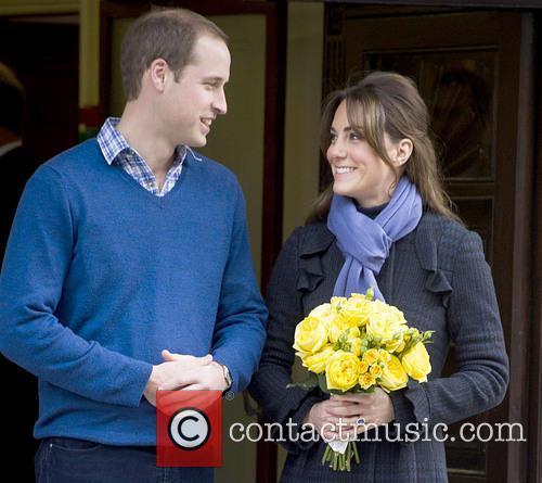Prince William, The Duke, Cambridge, Kate Middleton, Duchess, King Edward, Hospital, Catherine and Monday 9