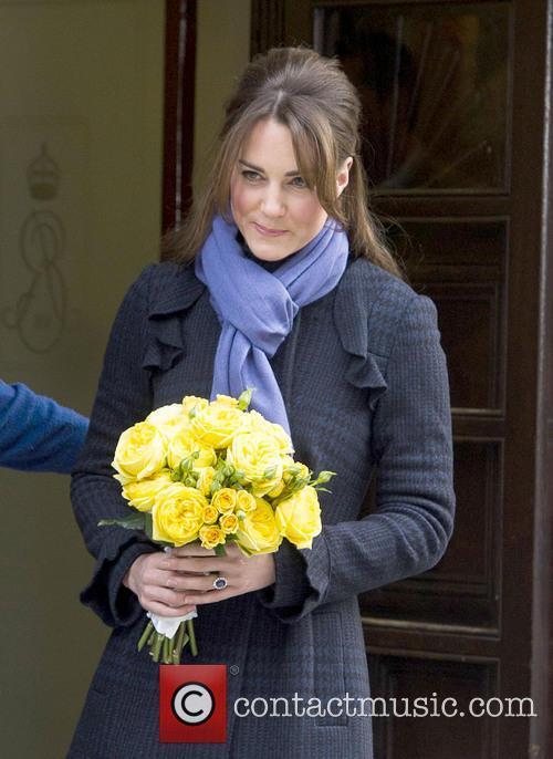 Prince William, The Duke, Cambridge, Kate Middleton, Duchess, King Edward, Hospital, Catherine and Monday 10