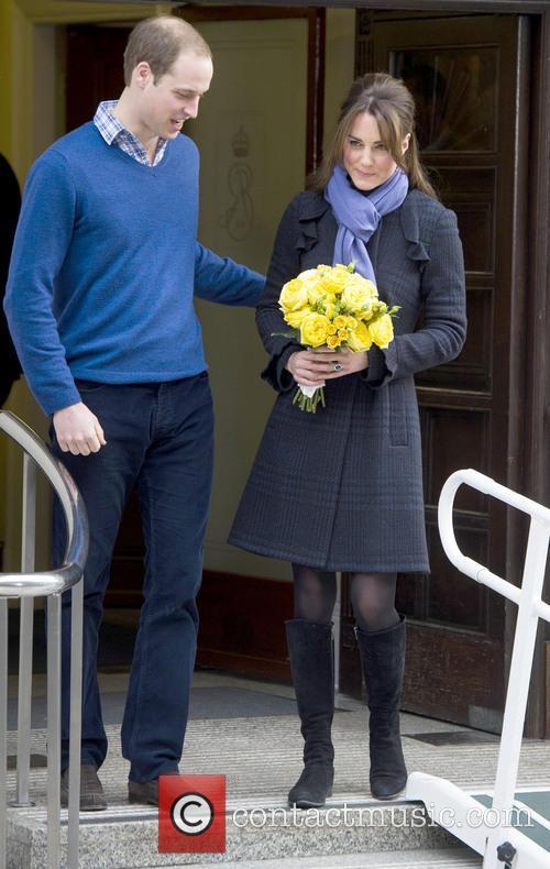Prince William, The Duke, Cambridge, Kate Middleton, Duchess, King Edward, Hospital, Catherine and Monday 8