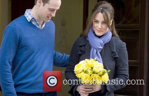 Prince William, The Duke, Cambridge, Kate Middleton, Duchess, King Edward, Hospital, Catherine and Monday 7