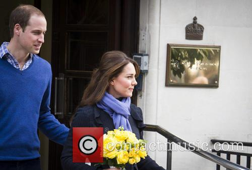 Prince William, The Duke, Cambridge, Kate Middleton, Duchess, King Edward, Hospital, Catherine and Monday 1