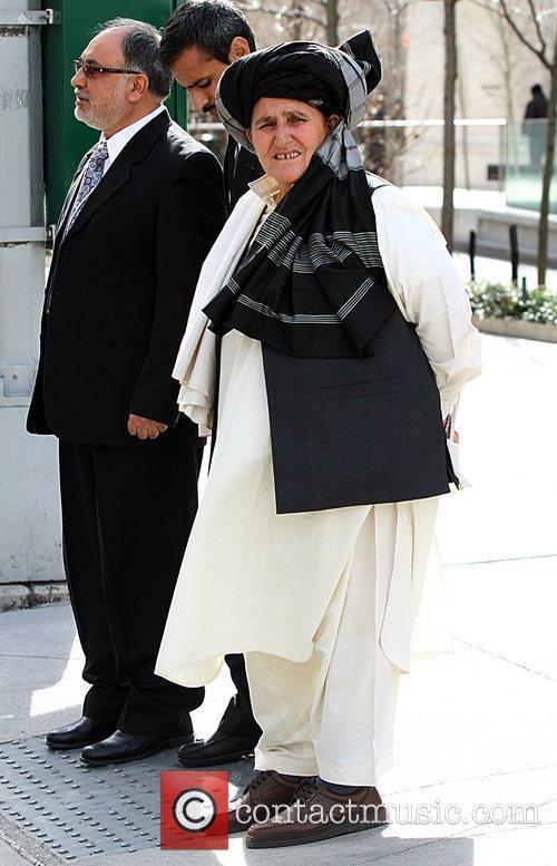 Afghan Elder Bibi Hokmina  leaving The 3rd...