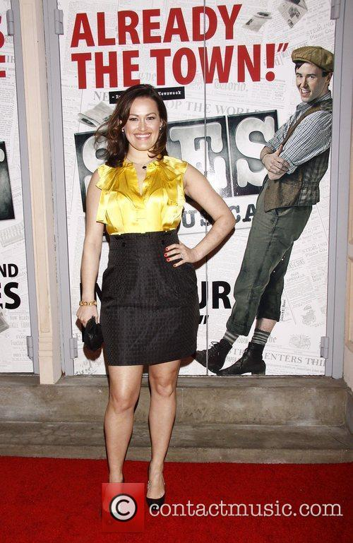 Ashley Brown  Broadway opening night of the...