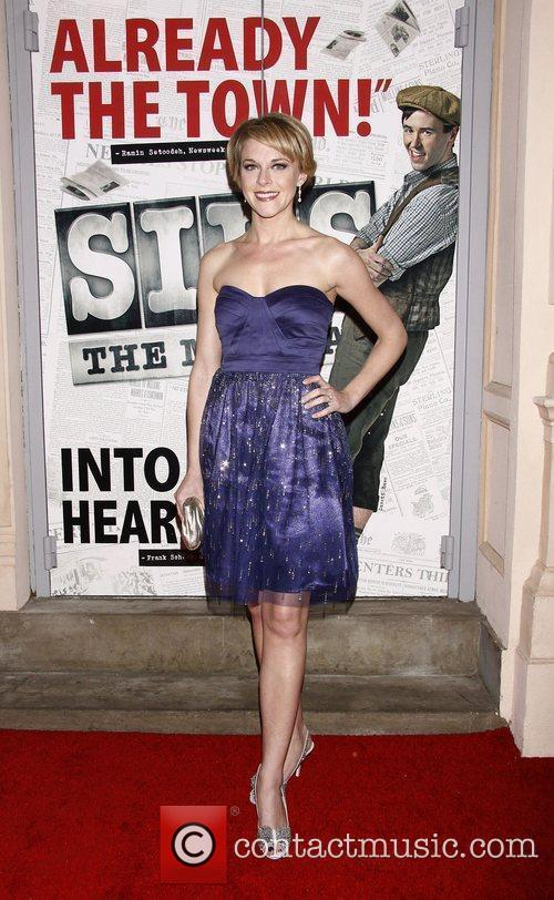 Ashley Spencer  Broadway opening night of the...