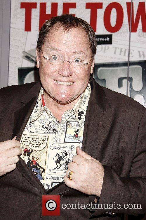 John Lasseter  Broadway opening night of the...