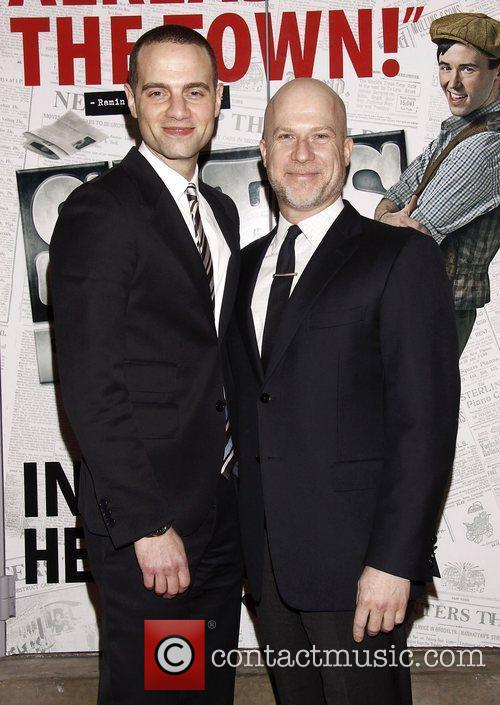 Jordan Roth and Richie Jackson  Broadway opening...