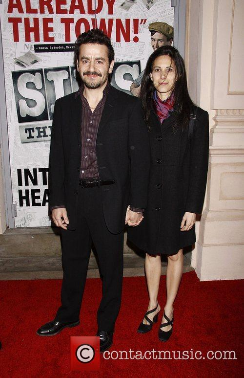 Max Casella and Leona Casella  Broadway opening...