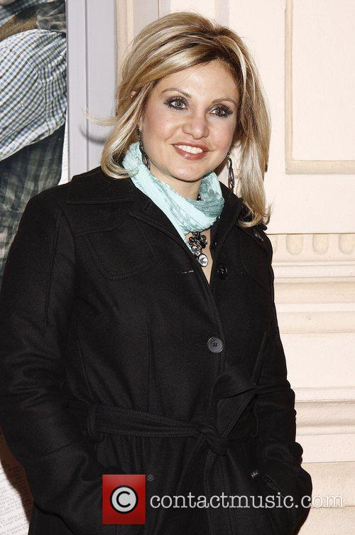 Orfeh  Broadway opening night of the Disney...