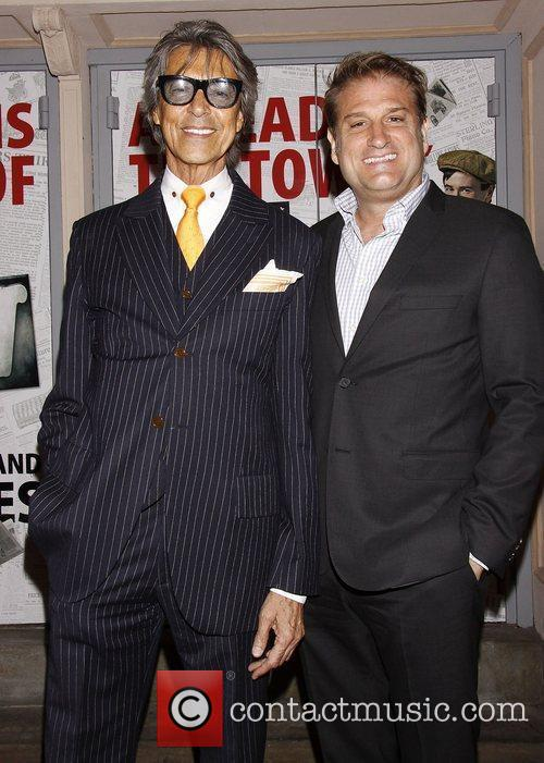 Tommy Tune and Jeff Calhoun  Broadway opening...
