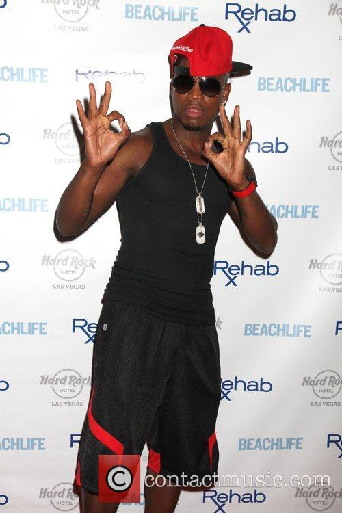 Ne-yo and Hard Rock Hotel And Casino 5