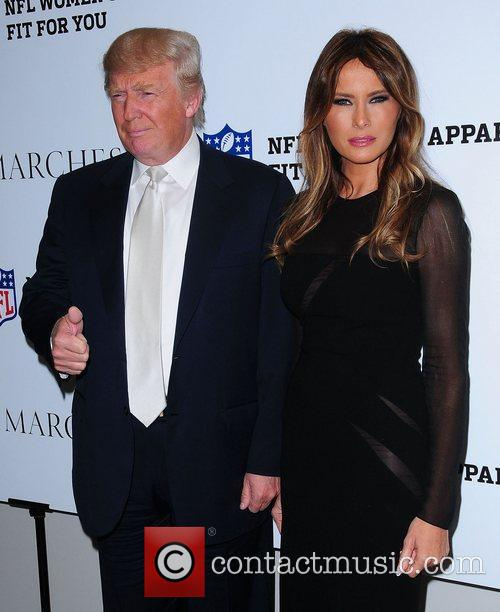 Donald Trump and Melania Trump 2