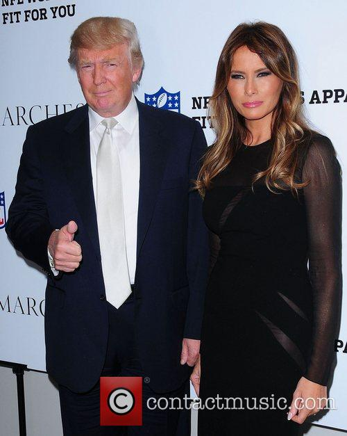 Donald Trump and Melania Trump 3