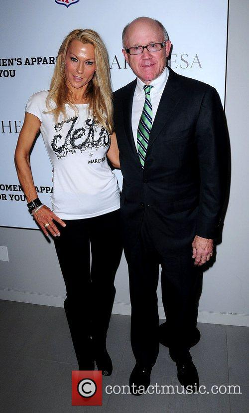 Susan Johnson and Woody Johnson