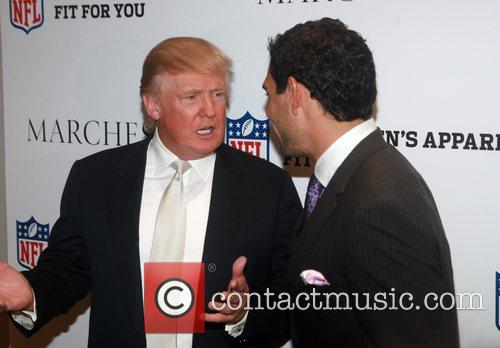 Donald Trump and Mark Sanchez 3