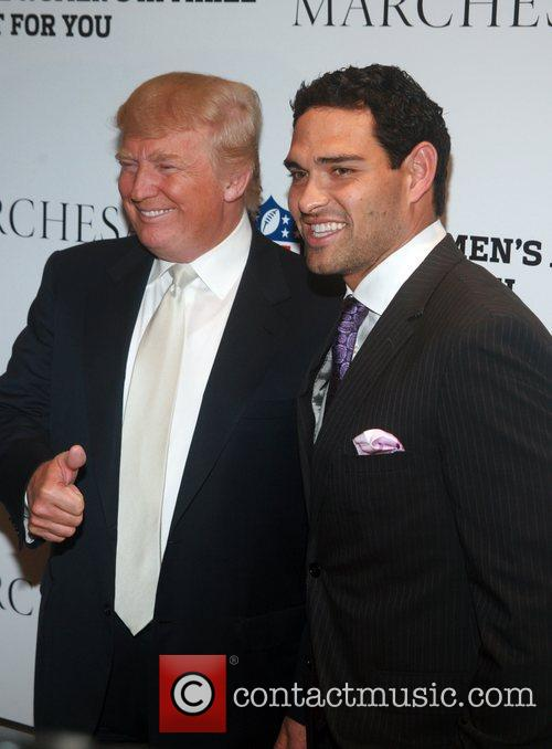 Donald Trump and Mark Sanchez 1