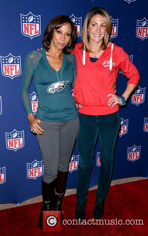 Holly Robinson Peete and Summer Sanders