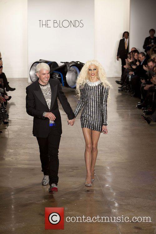 David Blond and Phillipe Blond Mercedes-Benz Fashion Week...