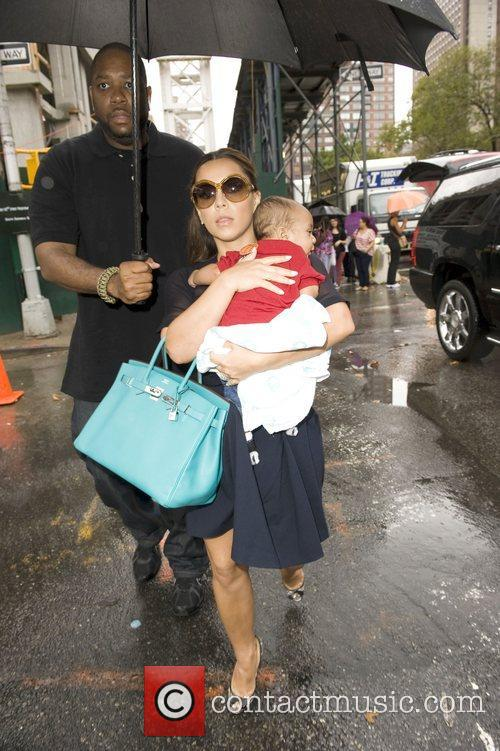 Adrienne Williams and son  Mercedes-Benz New York...