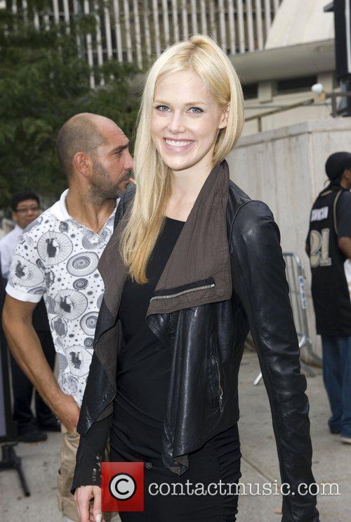 Becka Diamond  Mercedes-Benz New York Fashion Week...