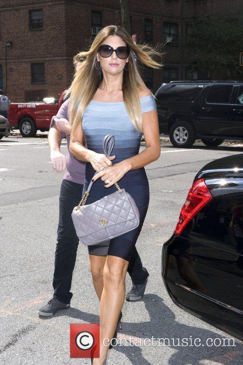 Daisy Fuentes  Mercedes-Benz New York Fashion Week...