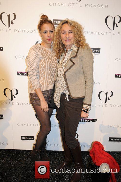 Charlotte Ronson, Ann Dexter-Jones  Mercedes-Benz Fashion Week...