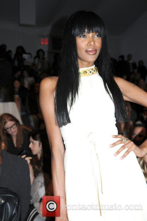 Jessica White  Mercedes-Benz Fashion Week Fall 2012...