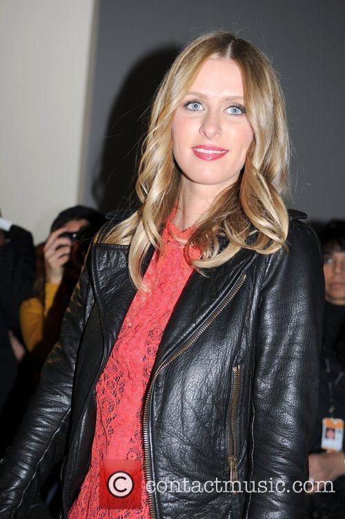 Nicky Hilton  Mercedes-Benz Fashion Week Fall 2012...