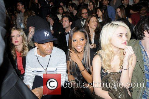 Nicky Hilton, Angela Simmons and Russell Simmons 2