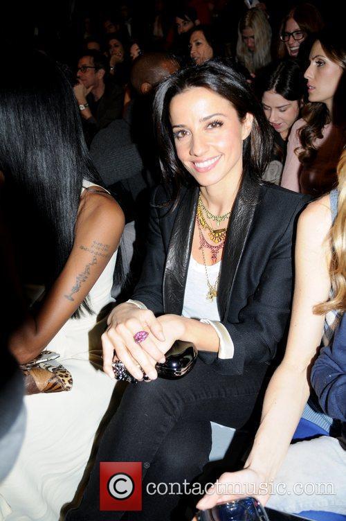 Shoshanna Lonstein Gruss  Mercedes-Benz Fashion Week Fall...