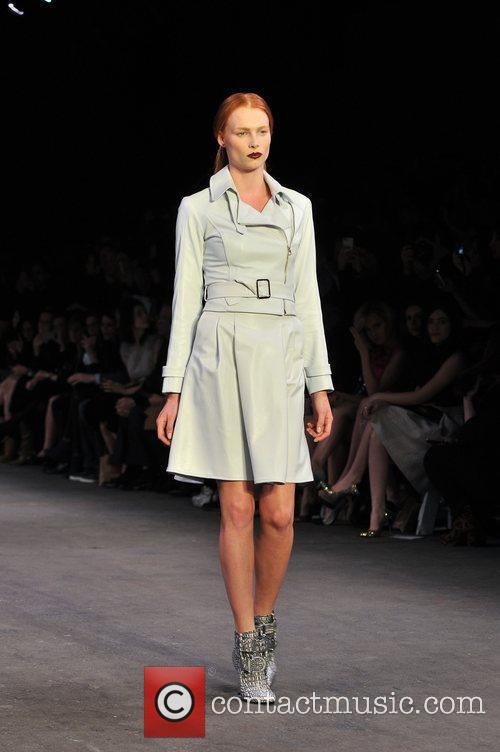 Model Mercedes-Benz Fashion Week Fall 2012 - Christian...