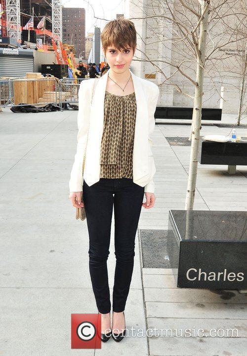 Sami Gayle Mercedes-Benz Fashion Week Fall 2012 -...