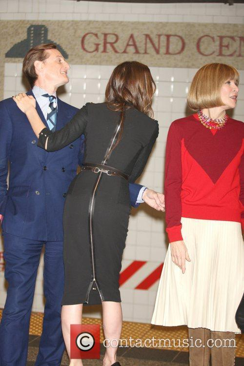 Hamish Bowles, Anna Wintour and Victoria Beckham 2