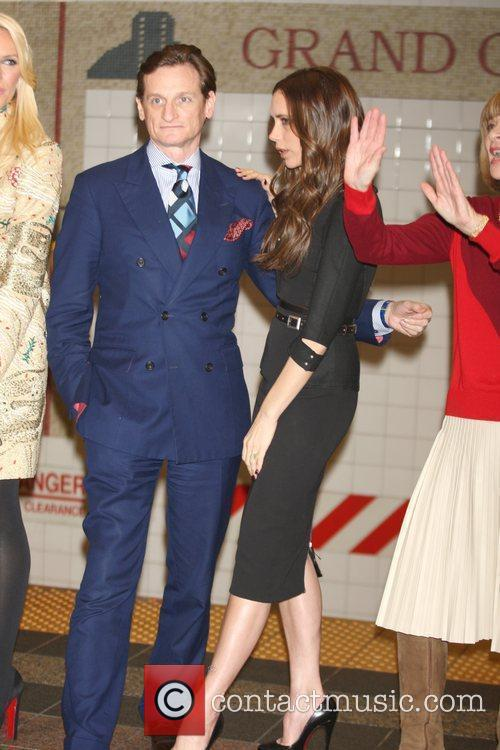 Hamish Bowles, Anna Wintour and Victoria Beckham 8