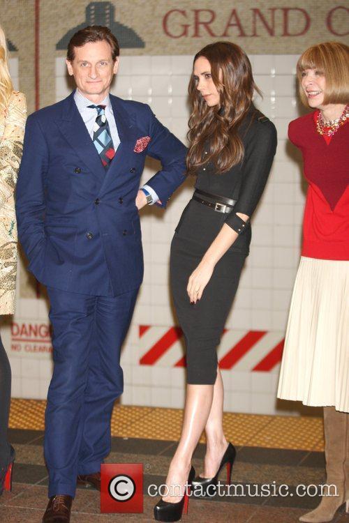 Hamish Bowles and Victoria Beckham 4