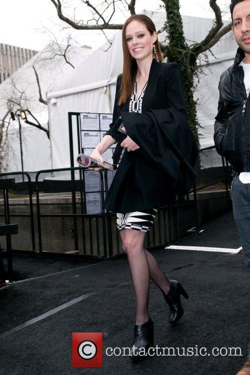 Coco Rocha  Mercedes-Benz Fashion Week Fall 2012...