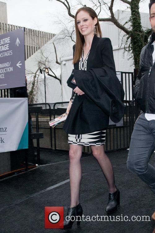 Mercedes-Benz Fashion Week Fall 2012 - Herve Leger...