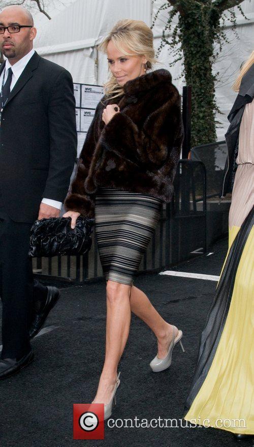 Kristin Chenoweth  Mercedes-Benz Fashion Week Fall 2012...