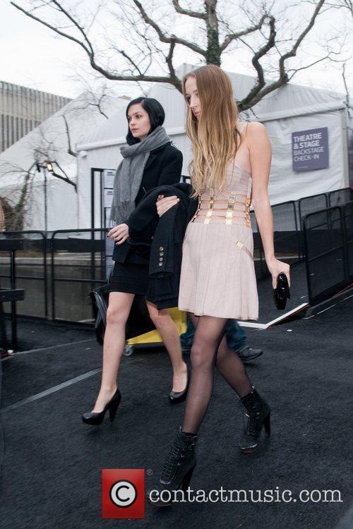 Leight Lezark  Mercedes-Benz Fashion Week Fall 2012...