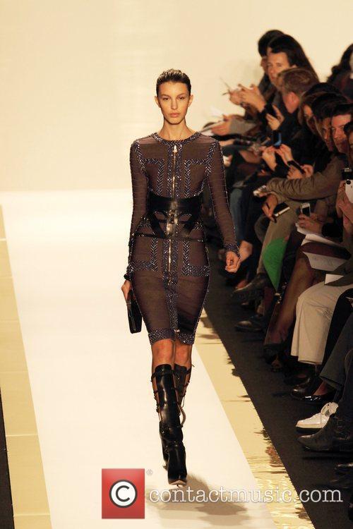 Model Mercedes-Benz Fashion Week Fall 2012 - Herve...