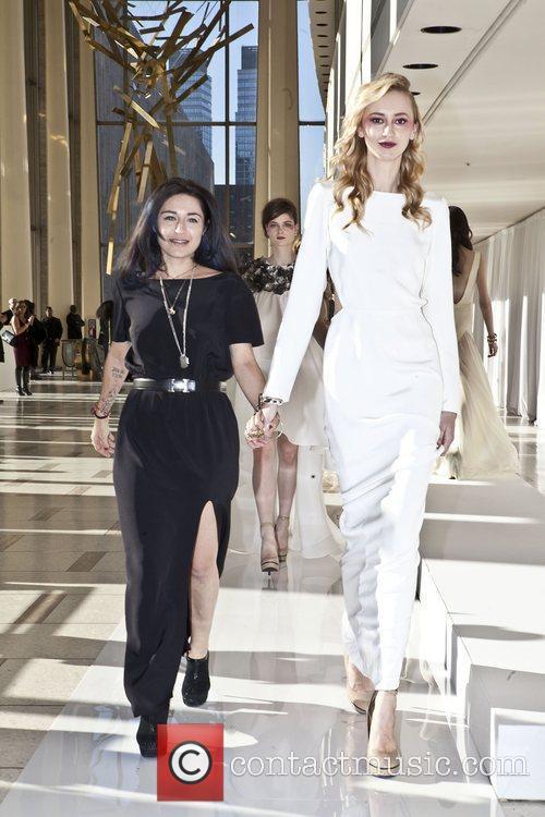 Mercedes-Benz Fashion Week Fall 2012 - Houghton -...